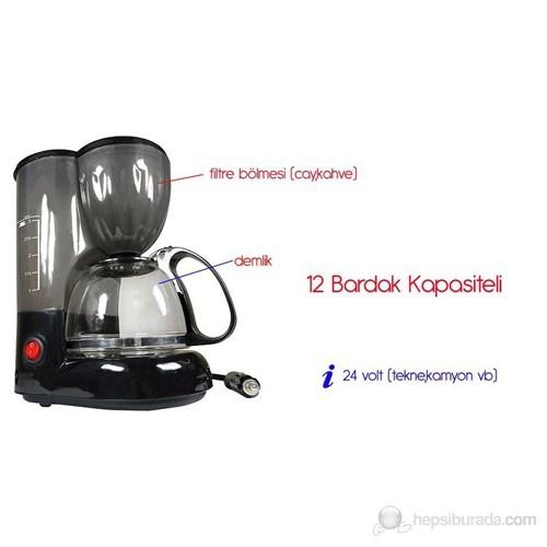 ModaCar 24 Volt Filtre Kahve,Çay Makinası 43a013