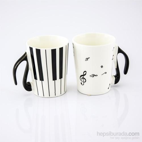 Mukko Home Porselen Kupa 2'Li Set