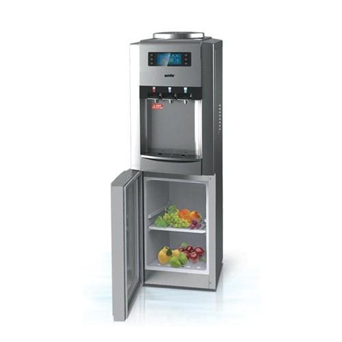 Simfer SB2607 3 Musluklu,Buzdolaplı ve Dijital Ekranlı Su Sebili