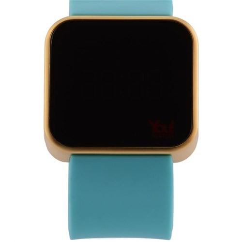 You Watch Shiny Rose Turquoise Unisex Kol Saati