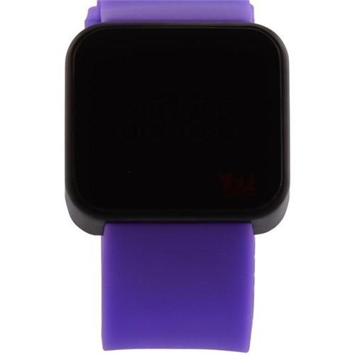 You Watch Matt Black Purple Unisex Kol Saati