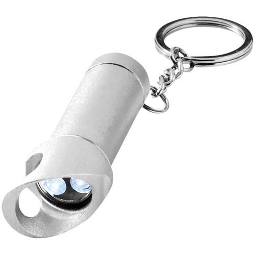 Pf Concept Ledli Şişe Açacaklı Anahtarlık Gümüş