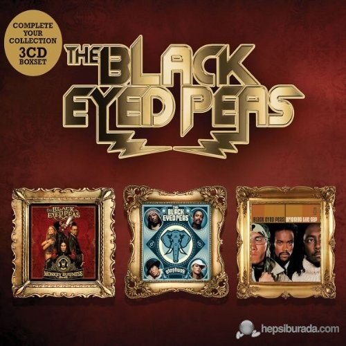 Black Eyed Peas - Bridging The Gap/Monkey Business/Elephunk (Box-Set)