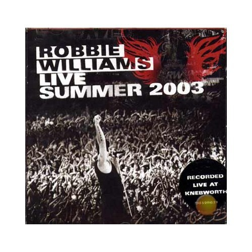 Live Summer 2003 (Robbie Williams) (cd)