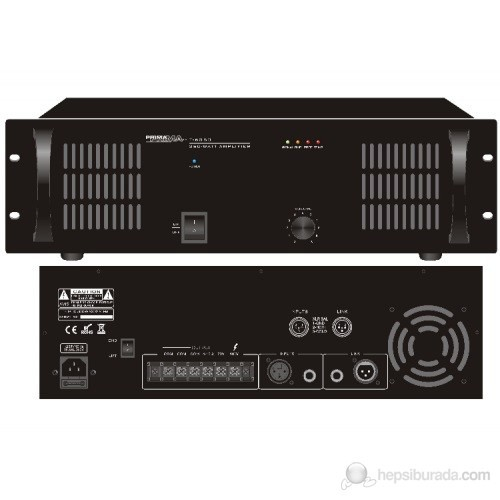 Prima T-6350 - 700 Watt Power Amfi
