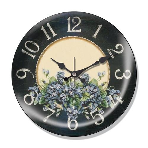 Clocktime By Cadran Dekoratif Bombeli Cam Duvar Saati Ct57