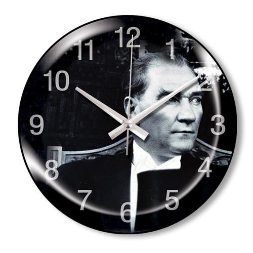 Clocktime By Cadran Dekoratif Bombeli Cam Duvar Saati Ct64