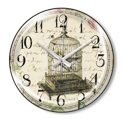 Clocktime By Cadran Dekoratif Bombeli Cam Duvar Saati Ct69
