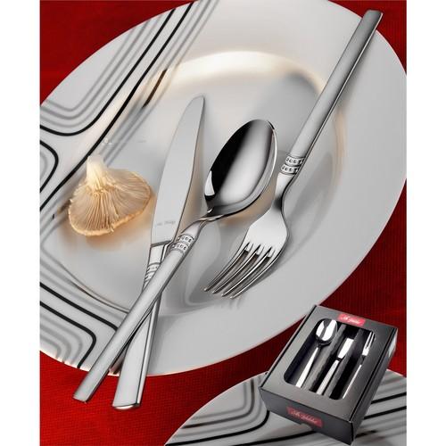 Aryıldız Rio Mat 18 Parça Yemek Takımı