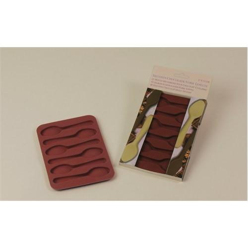 Patisse Kaşık Silikon Çikolata Kalıbı