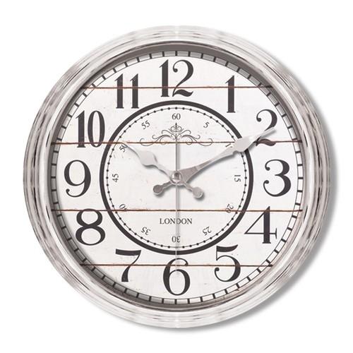 Clocktime By Cadran Metalize Vintage Duvar Saati Ct112