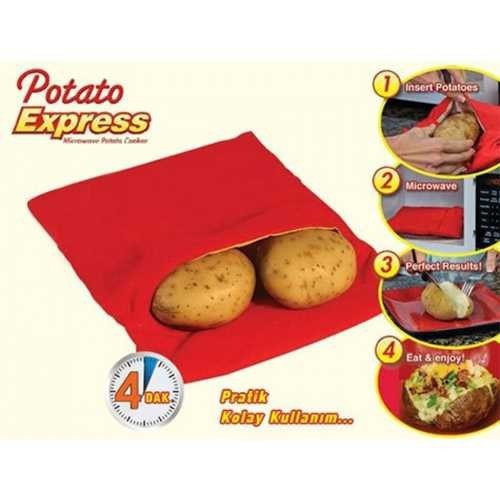 Uygun Kumpir Pişirme Kesesi Potato Ekspress