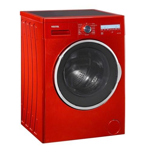 Vestel Hızlı 9812 TKE A+++ 9 Kg 1200 Devir Kırmızı Çamaşır Makinesi