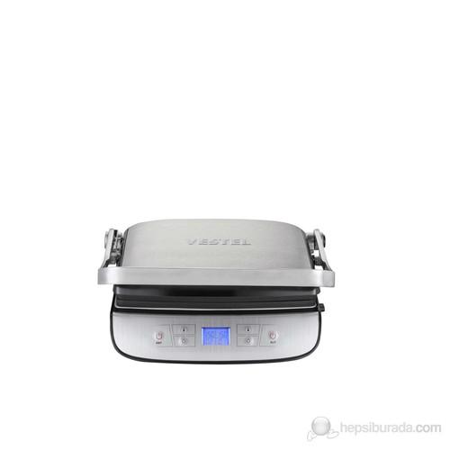 Vestel V-Brunch Serisi 3000 Dijital Inox Tost Makinesi
