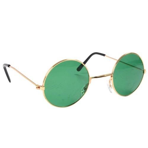 Köstebek John Lennon Gözlük Yeşil