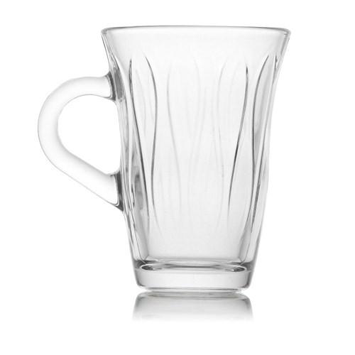 Lav Mına Gra Kulplu Çay Bardağı 6 Lı Mna409