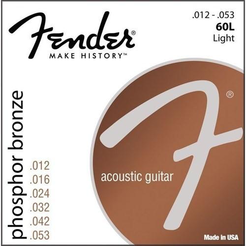 Fender Phosphor Bronze Acoustic Guitar Strings, Ba