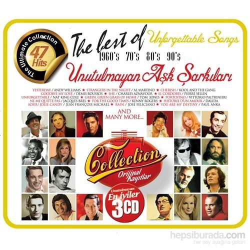 Various Artist - Unforgettable Unutulmayan Aşk Şarkıları (3 Cd)