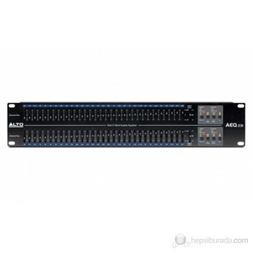 Alto AEQ231 - Stereo 31 Band Grafik Ekolayzer