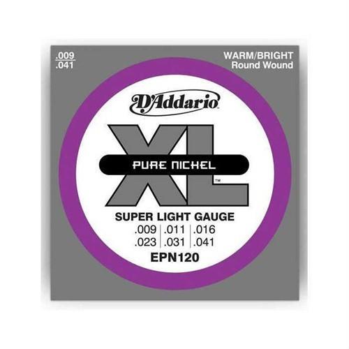 Daddario Epn120 Pure Nickel Super Light