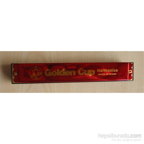 Mızıka 24 Delik Golden Cup Jh024-6Rd Kırmızı