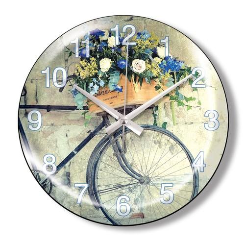 Clocktime By Cadran Dekoratif Bombeli Cam Duvar Saati Ct77