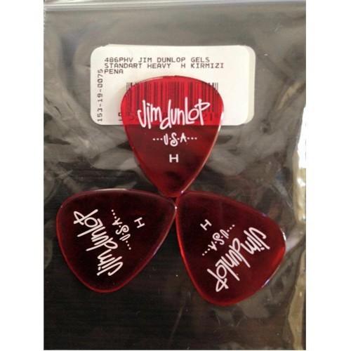 Jim Dunlop Gels Standart Kırmızı Pena