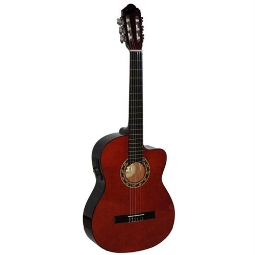 Carissa 37252 Cg-160Ce Nat 4/4 Tam Boy Gitar