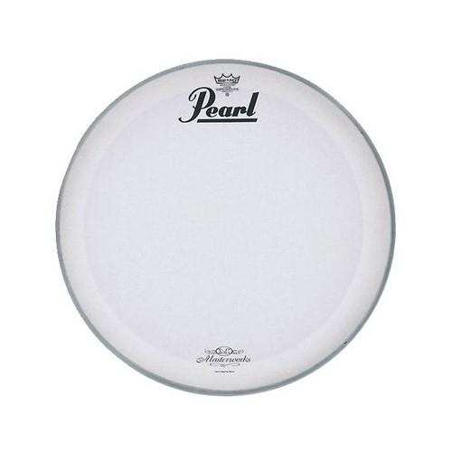 "Pearl Mwh-18Pl 18"" Coated P3 W/Masterworks Logo Bass Drum Front Head Deri"