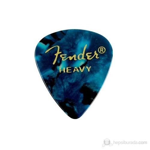 Fender 351 Shape Premium Picks 12'Li Okyanus Pena