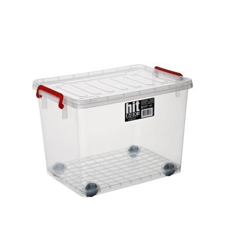 Bora Hitbox Çok Amaçlı Tekerlekli Plastik Sandık - Kasa 30 Lt No:22 - Bo 280
