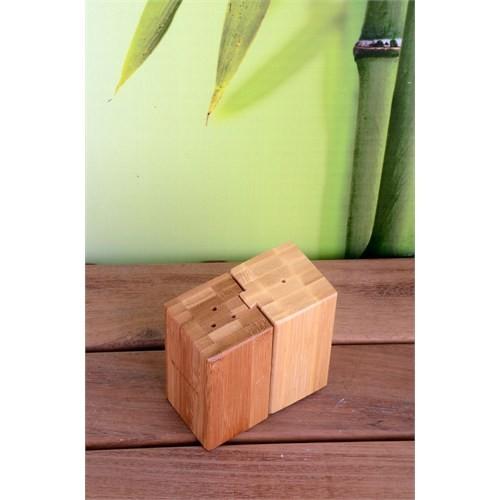 Royal Windsor Lüx Bambu Puzzle Tuzluk Seti