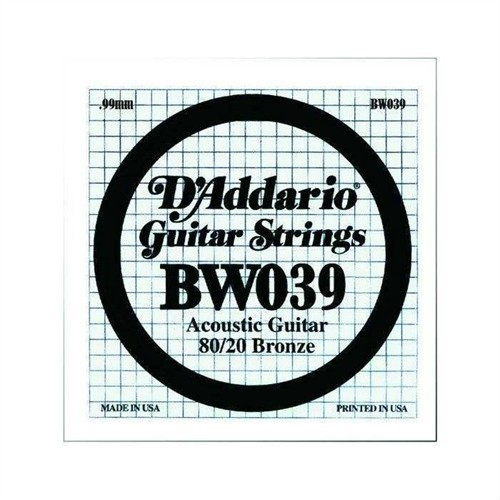 Daddario Akustik Gitar La (A) Tek Tel -Bw039