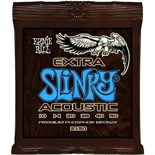 Ernie Ball 2150 Extra Slinky Acoustic Phosphor B