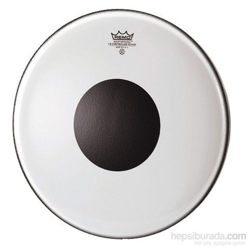 Remo Batter Controlled Sound Clear 16 Diameter Black Dot On Top