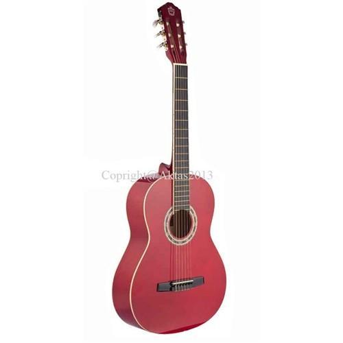 Carissa 36844 Cg-160 Red 4/4 Tam Boy Gitar