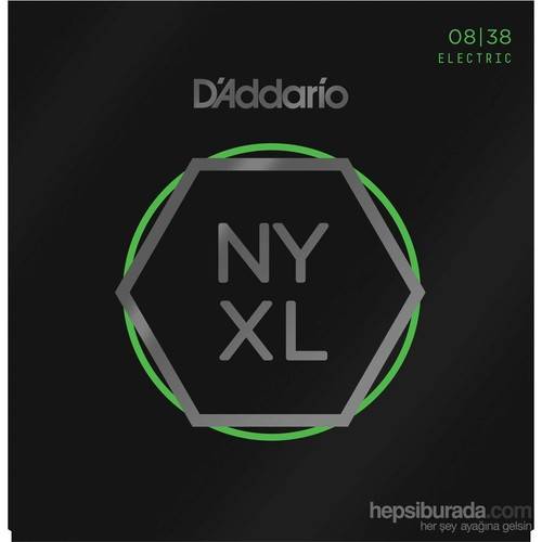 Daddario Nyxl0838 Extra Super Light (Nickel