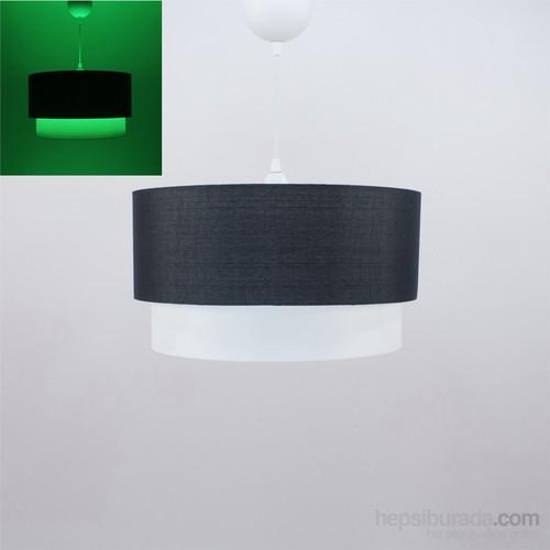 Crea Lighting Fosforix Sarkıt 40 Cm/Keten/Siyah