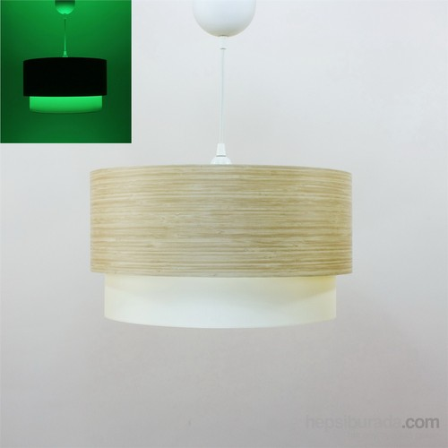 Crea Lighting/Fosforix Sarkıt 40 Cm/Wood/Bambu