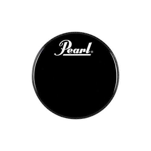 "Pearl Eb-22Bdpl 22"" Logo Front Bass Drumhead Black"