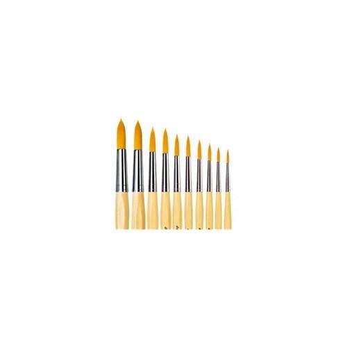 İdora 303 Sivri Uç Fırça Seti - 10 Fırça