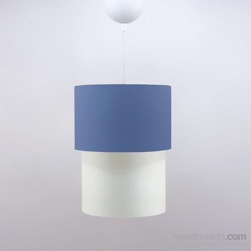 Crea Lighting Doubleshade Small Sarkıt(20Cm)/Cotton/Mavi