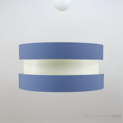 Crea Lighting Doubleshade Twin Sarkıt ( 40Cm )/Cotton/Mavi