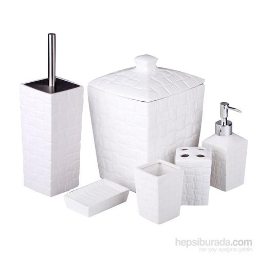 İhouse Porselen Banyo Seti 6 Parça
