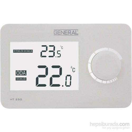 General Ht 250 Dijital Kablolu Oda Termostatı