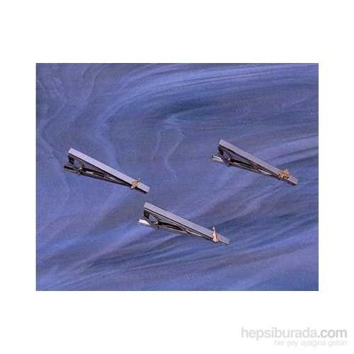 Çift Renk Kravat İğnesi - Sol Anahtarı