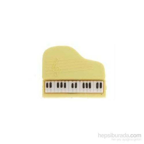 Kuyruklu Piyano Plastik Yaka İğnesi