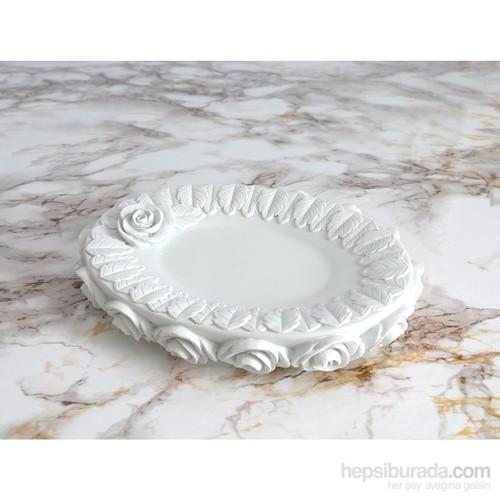 İrya Romantic Beyaz Katı Sabunluk
