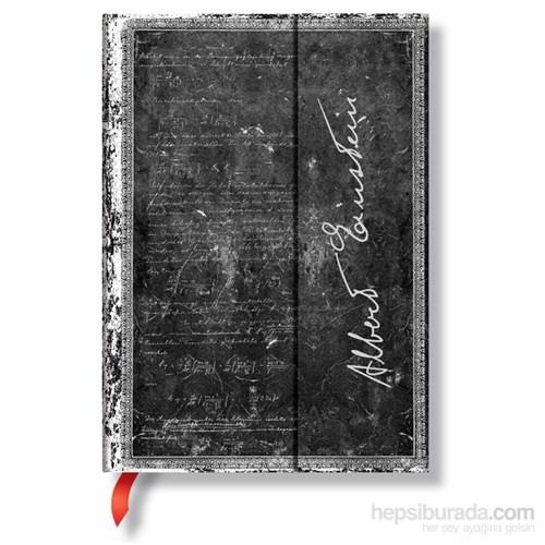 Paperblanks Pb-3-2670-9 Albert Einstein Midi Çizgili Defter