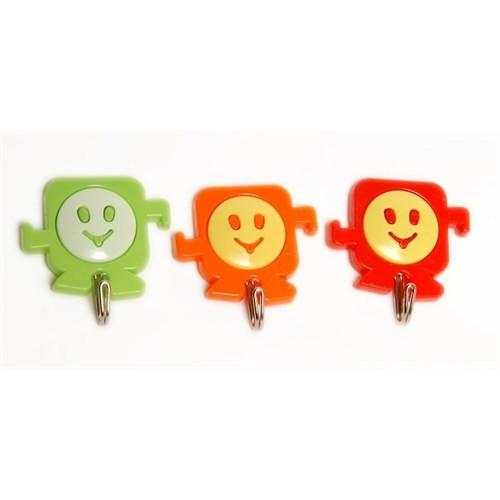 3 Lü Marina Gülen Askı Karma Renkli-Es63